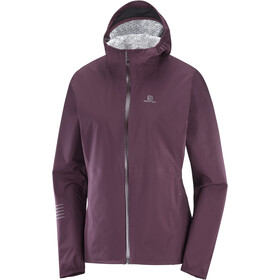 Salomon Lightning WP Jacket Women wine tasting